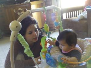divertir a la beba