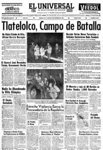 El Universal 3 de octubre de 1968