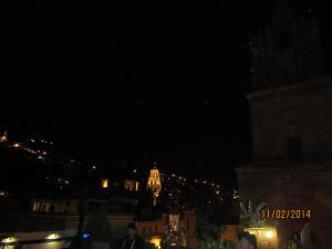 Guanajuato desde la terraza de Casa Cuatro
